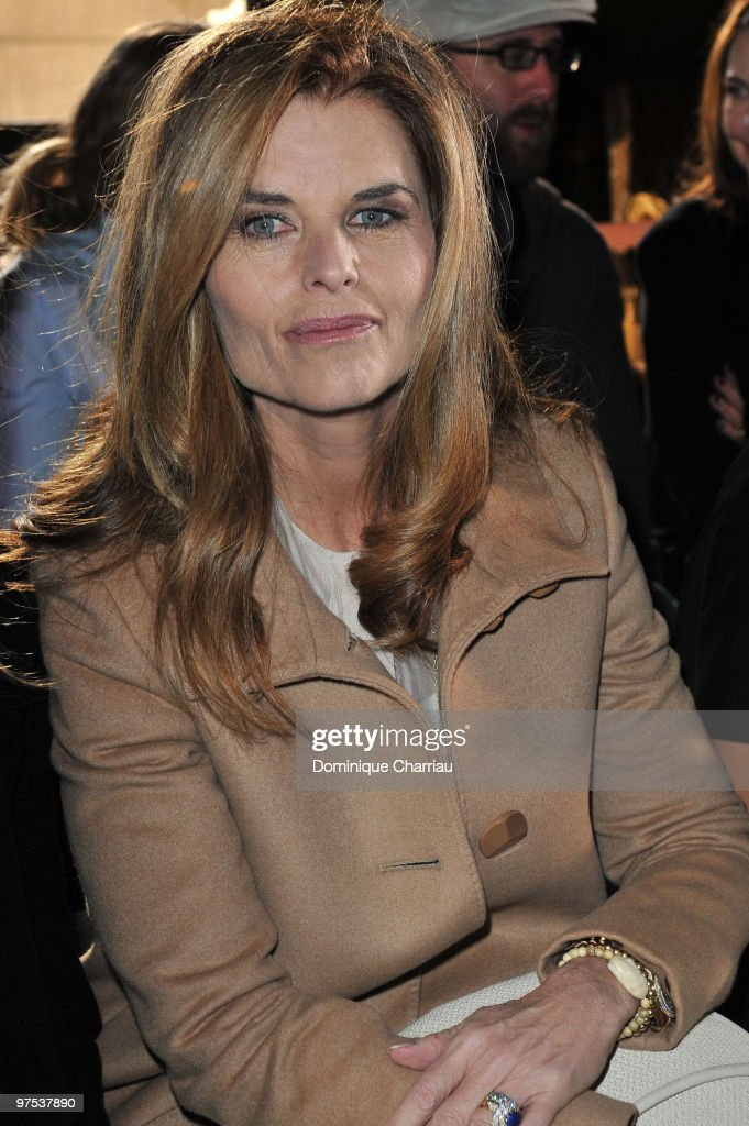 Maria Shriver attends the Stella McCartney Ready to Wear show as part of the Paris Womenswear Fashion Week Fall/Winter 2011 at Opera Garnier on March 8, 2010 in Paris, France.