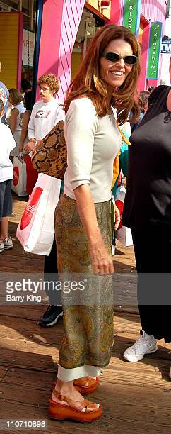 Maria Shriver during Special Olympics Pier Del Sol Benefit at Santa Monica Pier and Pacific Park in Santa Monica California United States