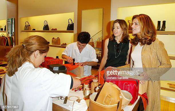 Maria Shriver during United Friends of the Children Trunk Show Event at Tod's Boutique at Tod's Store Beverly Hills in Beverly Hills, California,...