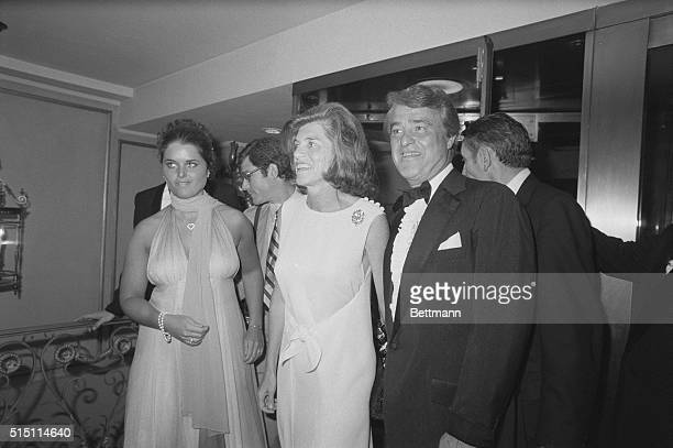 Maria Shriver poses here with her mother Eunice and father Sargent