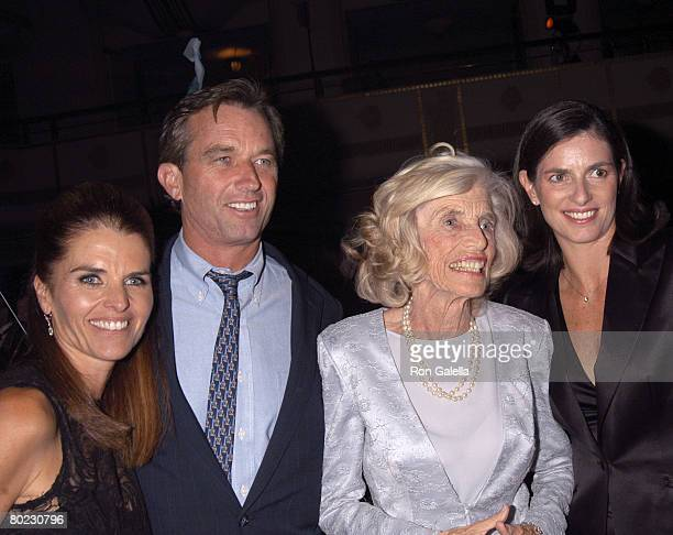 Maria Shriver, Robert Kennedy Jr., Eunice Shirver, and Mary Richardson Kennedy