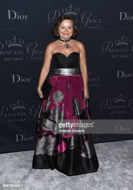 Maria Soldier arrives at the 2017 Princess Grace Awards Gala at The Beverly Hilton Hotel on October 25 2017 in Beverly Hills California