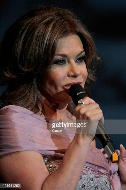Maria Sorte during presentation of the book Mario Moreno Cantinflas years 100 in the palace of fine arts in Mexico City