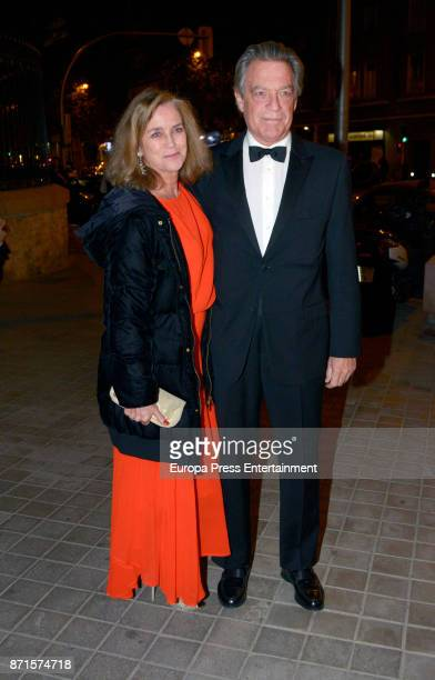 Maria Suelves and Claudio Montes attend the XV Marie Claire Prix de la Moda Awards at Florida Retiro on November 7 2017 in Madrid Spain