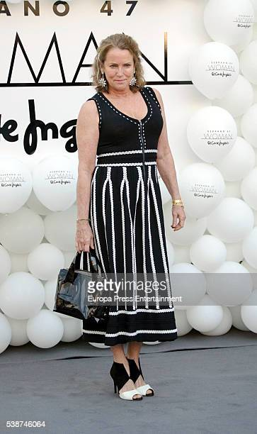 Maria Suelves attends 'Serrano 47 Woman' presentation at El Corte Ingles on June 7 2016 in Madrid Spain