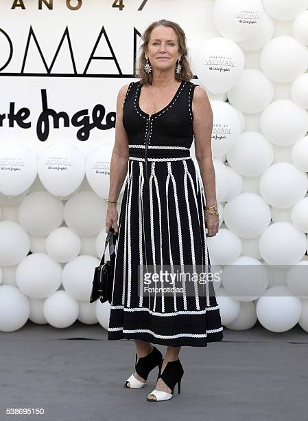 Maria Suelves attends the El Corte Ingles 'Serrano 47 Women' presentation on June 7 2016 in Madrid Spain