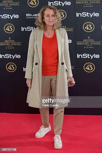 Maria Suelves attends the 'Live in Colors' photocall during the InStyle Beauty Day at the Miguel Angel Hotel Garden on May 19 2016 in Madrid Spain