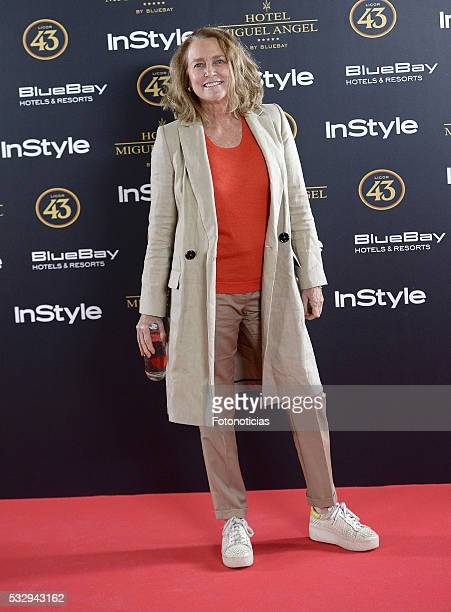 Maria Suelves attends the 'Live in Colours' photocall at El Jardin del Miguel Angel on May 19 2016 in Madrid Spain