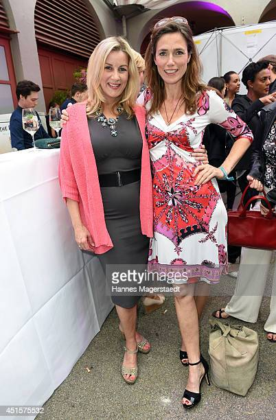 Maria Surholt and Julia Bremermann attend the Bavaria Reception at the Kuenstlerhaus as part of the Munich Film Festival 2014 on July 1 2014 in...