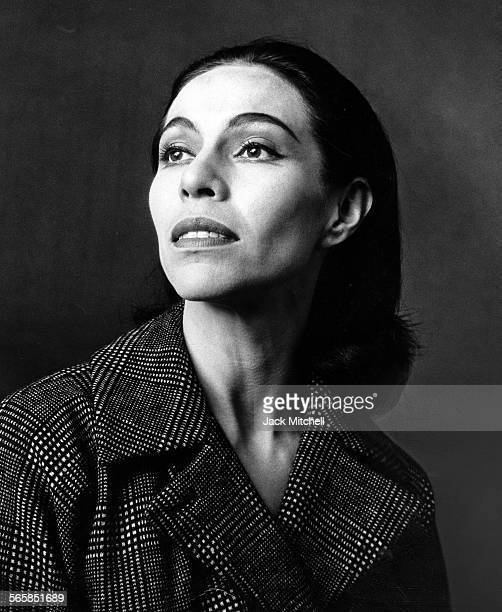Maria Tallchief America's first major prima ballerina and the first Native American to hold the rank photographed in 1963 Photo by Jack...