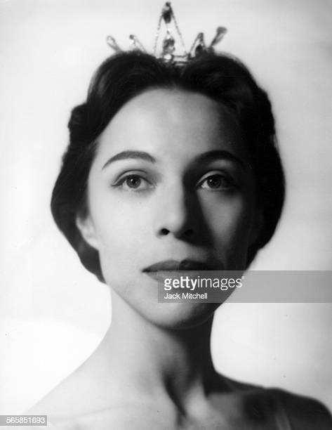 Maria Tallchief America's first major prima ballerina and the first Native American to hold the rank photographed in 1951 Photo by Jack...