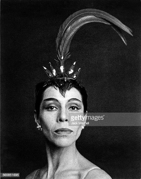 Maria Tallchief America's first major prima ballerina and the first Native American to hold the rank photographed in 1964 Photo by Jack...