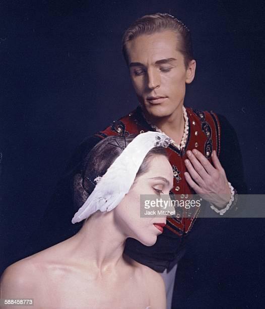 Maria Tallchief and Erik Bruhn in 'Swan Lake' 1960