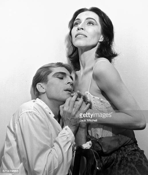 Maria Tallchief and Erik Bruhn performing 'Miss Julie' in 1961