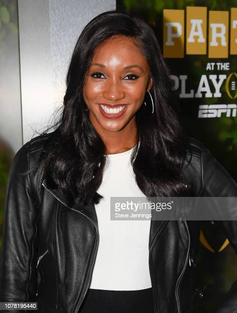 Maria Taylor of ESPN attends the Party At The Playoff at The GlassHouse on January 5 2019 in San Jose California