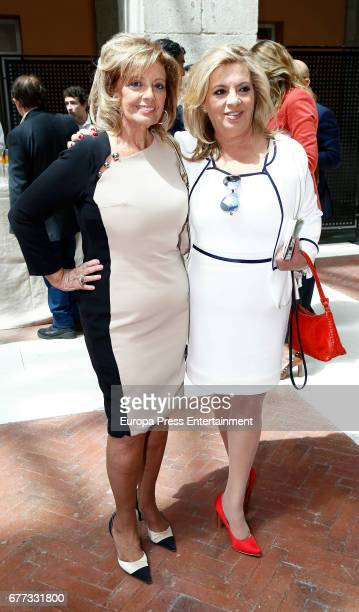 Maria Teresa Campos and Carmen Borrego attend the delivery of Gold Medals of the Madrid region 2017 at the Casa de Correos on May 2 2017 in Madrid...