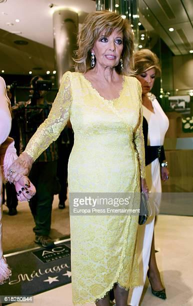 Maria Teresa Campos attends 50th Anniversary AC Palacio Hotel Awards on October 25 2016 in Malaga Spain