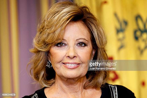 Maria Teresa Campos attends 'Amar Para Que' presentation of her book at Intercontinental Hotel on October 29 2014 in Madrid Spain