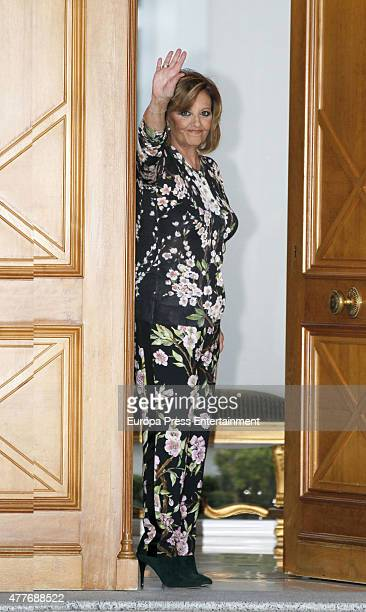 5a7304a21 Maria Teresa Campos attends her 74th birthday on June 18 2015 in Madrid  Spain