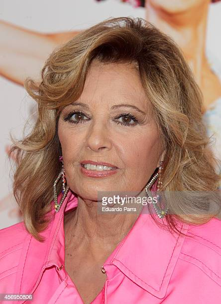 Maria Teresa Campos attends 'Priscilla Queen of the Desert' premiere photocall at Nuevo teatro Alcala on October 9 2014 in Madrid Spain