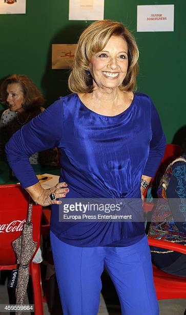 Maria Teresa Campos attends 'Rastrillo Nuevo Futuro' on November 24 2014 in Madrid Spain