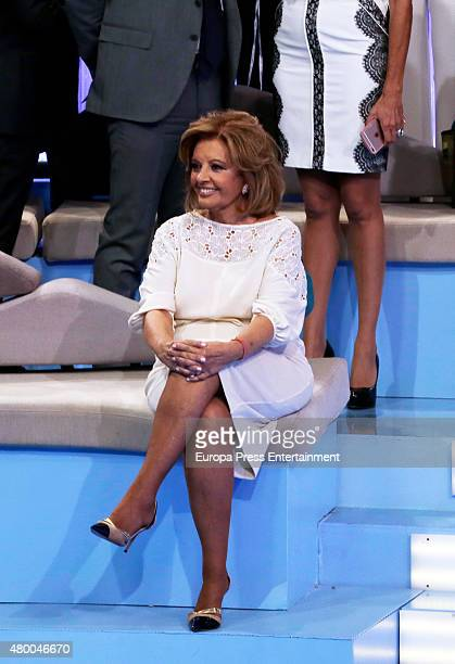 Maria Teresa Campos attends Telecinco TV Channel in its 25th anniversary on July 9 2015 in Madrid Spain