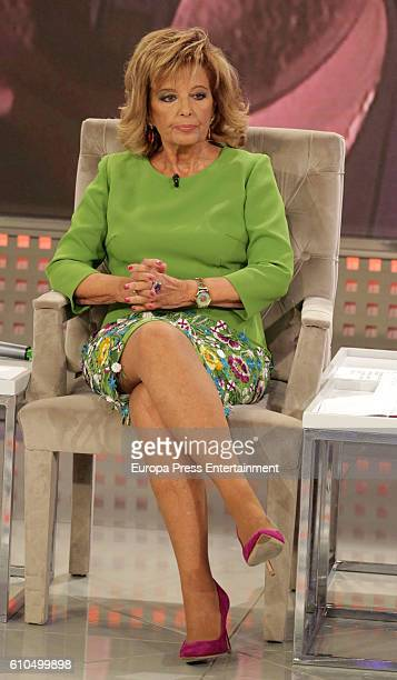 Maria Teresa Campos attends the celebration of the seven season of 'Que Tiempo Tan Feliz' on September 24 2016 in Madrid Spain