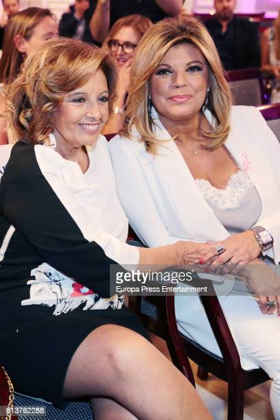 Maria Teresa Campos attends the presentation of the autobiography book 'Frente Al Espejo' by Terelu Campos at Hotel Villamagna on July 12 2017 in...