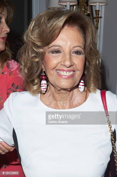 Maria Teresa Campos attends the presentation of the new book 'Frente Al Espejo' at Hotel Villamagna on July 12 2017 in Madrid Spain
