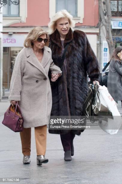 Maria Teresa Campos is seen on December 26 2017 in Madrid Spain