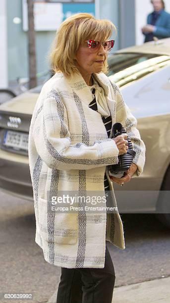 Maria Teresa Campos is seen on December 28 2016 in Madrid Spain