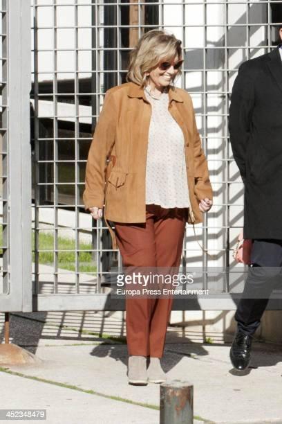 Maria Teresa Campos is seen on November 12 2013 in Madrid Spain