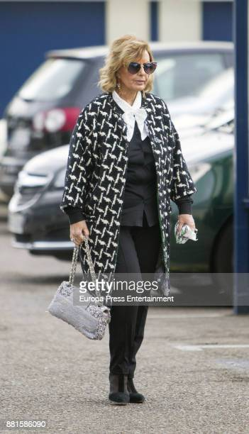 Maria Teresa Campos is seen on November 28 2017 in Madrid Spain
