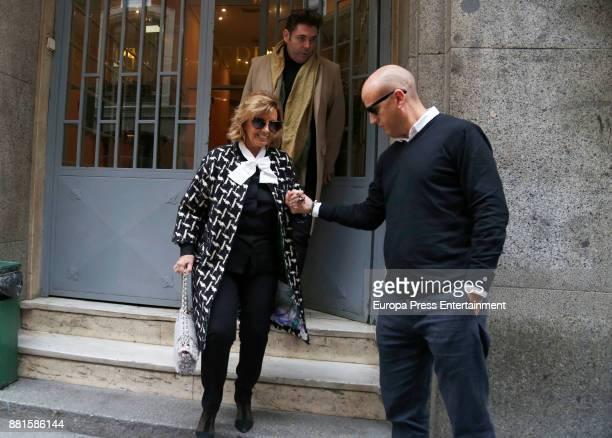 Maria Teresa Campos is seen on November 28 2017 in Madrid Spain