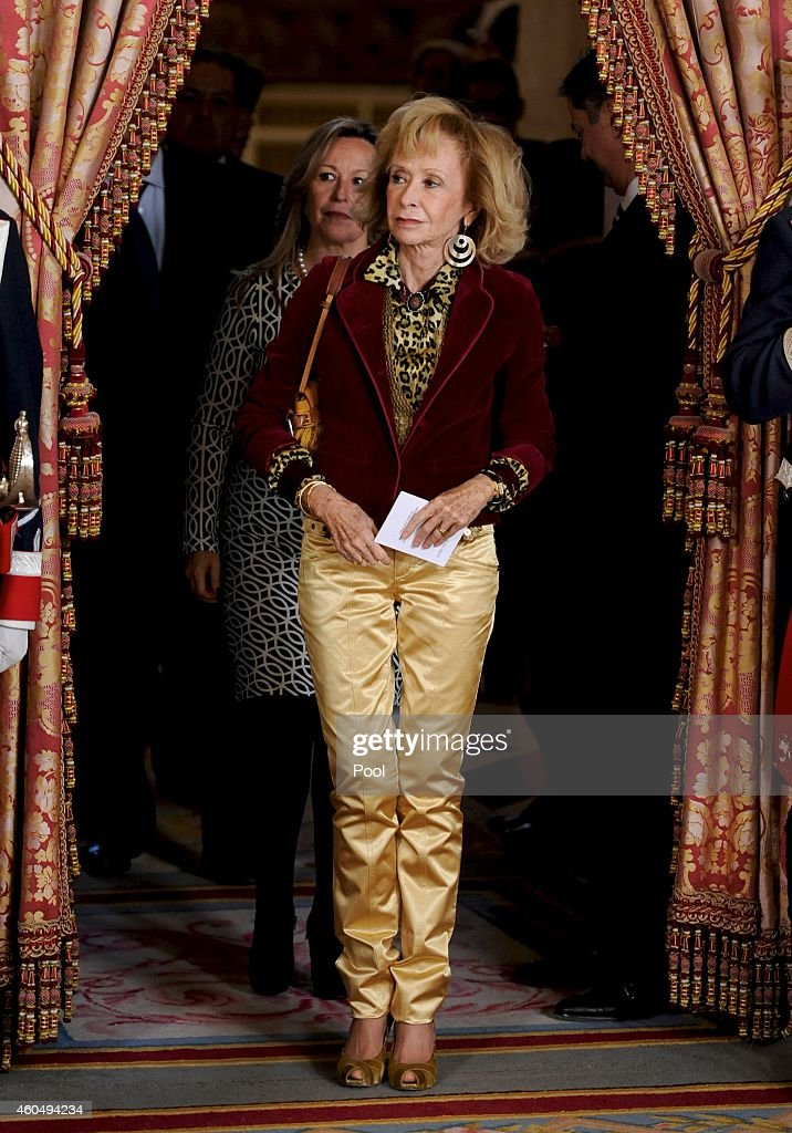 Spanish Royals Receives Senegal President