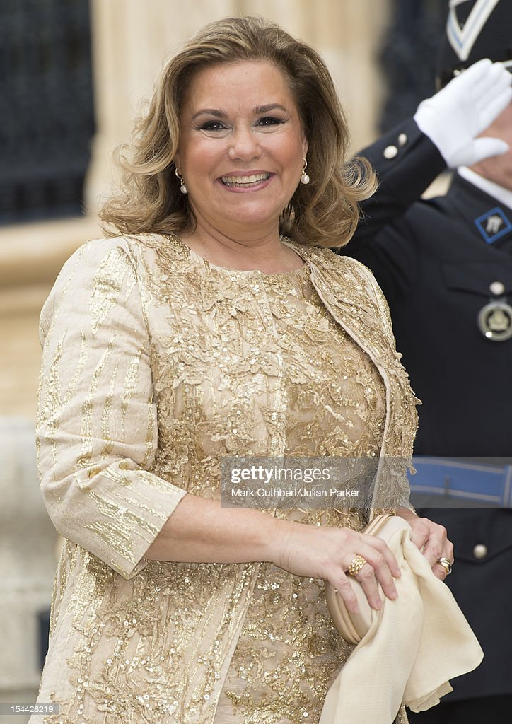 The Wedding Of Prince Guillaume Of Luxembourg & Stephanie de Lannoy - Civil Ceremony : News Photo
