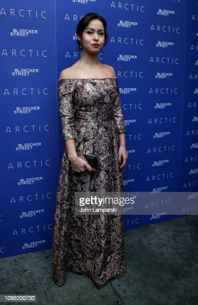 Maria Thelma Smaradottir attends 'Arctic' New York Screening at Metrograph on January 16 2019 in New York City