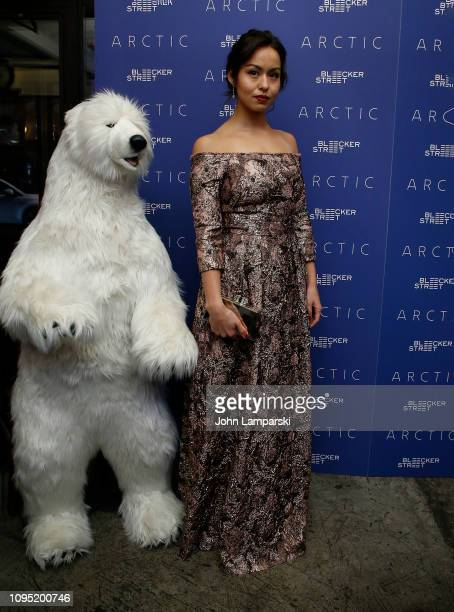 Maria Thelma Smaradottir attends 'Arctic' New York Screening at Metrograph on January 16 2019 in New York City