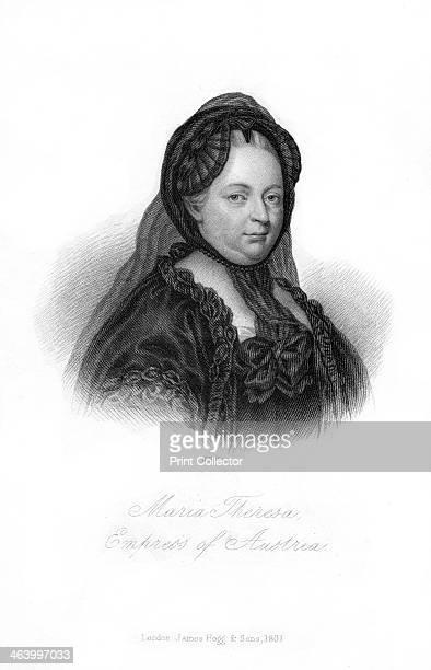 Maria Theresa, Archduchess of Austria, . Portrait of Maria Theresa .