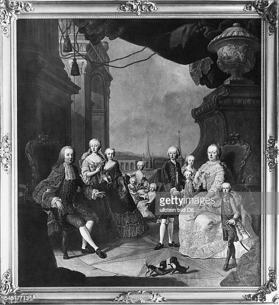 Maria Theresa - Austrian Empress, A *13.05.1717-29.11.1780+ Empress consort of the Holy Roman Empire 1740-1780 Queen consort of Germany - Portrait,...