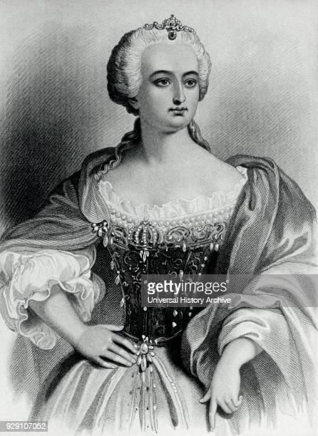 Maria Theresa Empress of the Habsburg Dominions Queen of Hungary and Bohemia Consort of Francis I Portrait
