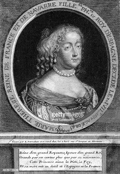 Maria Theresa of Spain wife of Louis XIV of France Portrait of Maria Theresa of Spain queen consort of King Louis XIV of France the Sun King