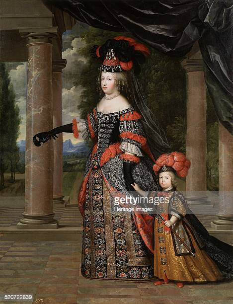 Maria Theresa of Spain with Her son the Dauphin Louis of France Found in the collection of Museo del Prado Madrid