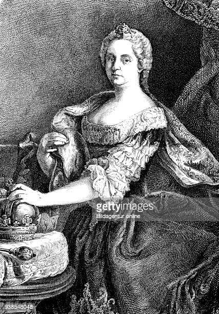 Maria Theresa Walburga Amalia Christina Maria Theresia 1717 1780 was the only female ruler of the Habsburg dominions and the last of the House of...