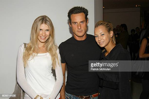 Maria Theresia and Sandy attend Tony Ingrao Randy Kemper Present DEVOLUTION by MARCO PEREGO at Ingrao Gallery on September 20 2007 in New York City