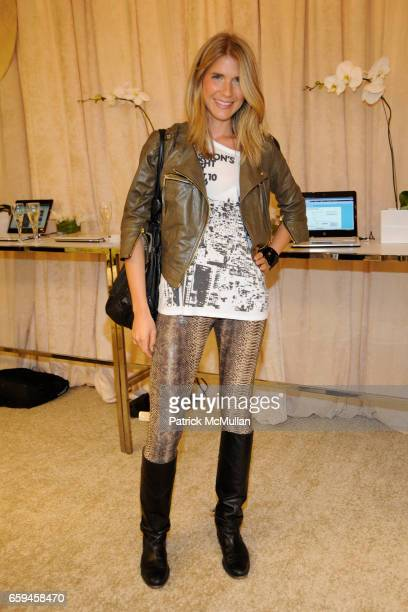 Maria Theresia attends LORD TAYLOR Celebrates Fashion's Night Out at Lord Taylor on September 10 2009 in New York