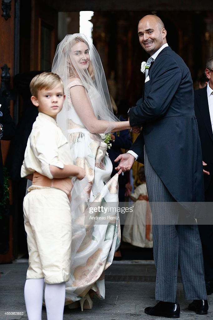 Wedding Of Maria Theresia Princess von Thurn und Taxis And Hugo Wilson : News Photo