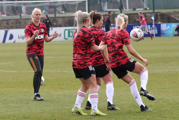 GBR: Burnley v Manchester United: Vitality Women's FA Cup