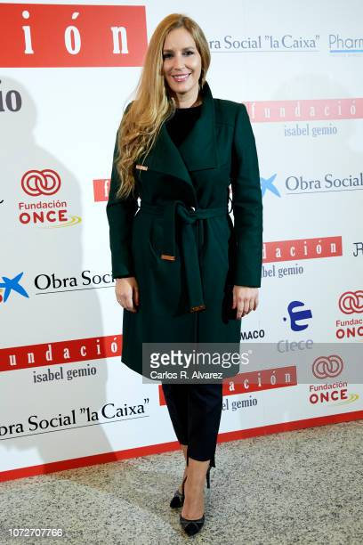 Maria Toledo attends 'Estrellas por la Ciencia' gala at the Canal Theater on November 26 2018 in Madrid Spain