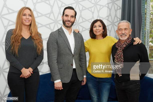 Maria Toledo Mario Sandoval Isabel Gemio and Victor Ullate present 'Estrellas Por La Ciencia' event at the Alma Club on November 16 2018 in Madrid...